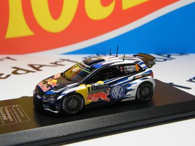 RALLY Monte Carlo 2016 VOLKSWAGEN POLO R WRC A. Mikkelsen - IXO 1:43