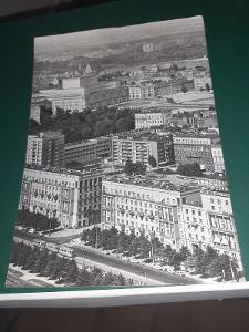 Pohlednice z roku 1969 Varšava, prošlé poštou.
