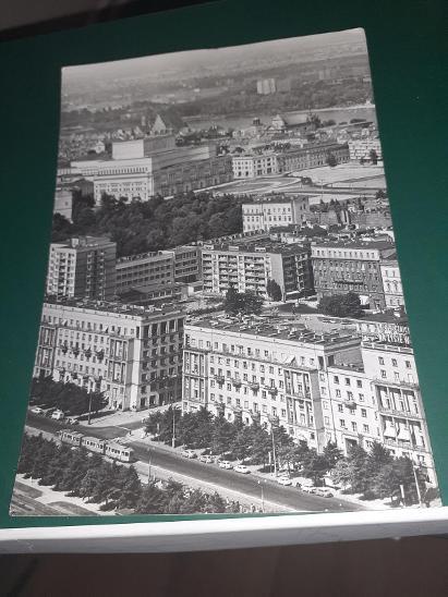Pohlednice z roku 1969 Varšava, prošlé poštou. - Pohlednice