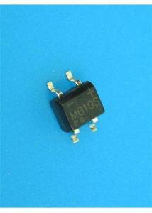 usměrňovací můstky SMD MB10S - 0,5A / 1000V - 5 kusů