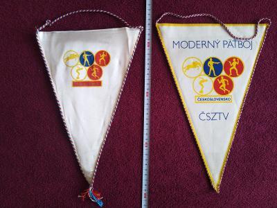 Staré sportovní vlaječky, Moderní pětiboj ČSSR
