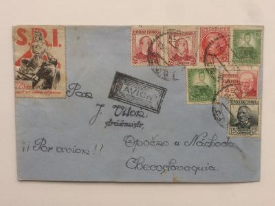 Španělsko 1937 Interbrigáda - ČSR letecké