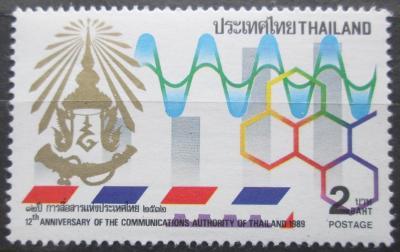 Thajsko 1989 Symbol komunikace Mi# 1301 0080