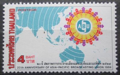 Thajsko 1984 Mapa Mi# 1085 0080