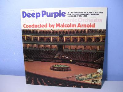 LP DEEP PURPLE - The Royal Philharmonic Orchestra - EMI - HARVEST