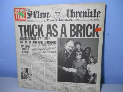 LP JETHRO TULL - THICK AS A BRICK