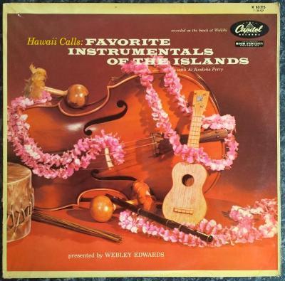 LP Al Kealoha Perry - Hawaii Calls: Fav. Instrumentals Of The Islands