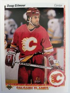 Doug Gilmour #271 Calgary Flames 1990/1991 Upper Deck