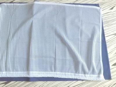 Nepoužitá pěkná krátká jemná záclona - 2ks