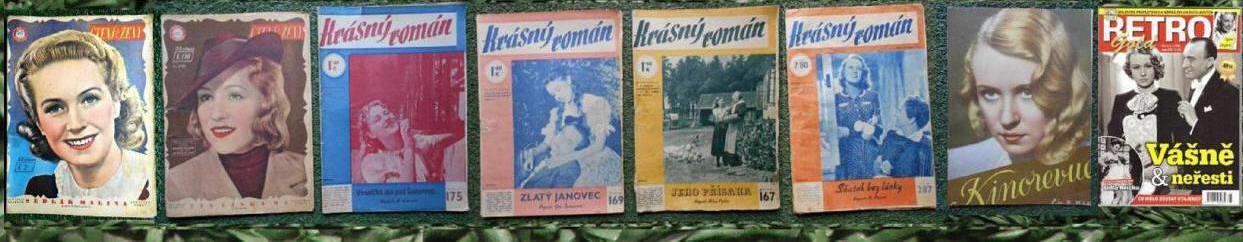 Nataša Gollová - 8 ks staré časopisy
