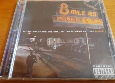 CD 8 Mile Music from the motion picture- Feat Eminem, 50 cent