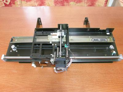 2D lineární posuv, 2x krokový motor, 450 x 110 mm