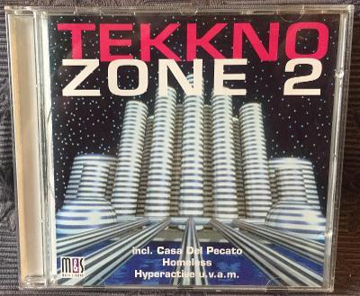 CD -  TEKKNO ZONE 2 (1995), CD V PĚKNÉM STAVU