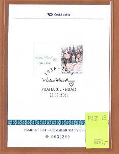 Pamětní list - PLZ 13