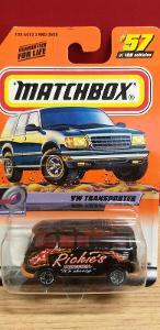 MATCHBOX ´´ VOLKSWAGEN TRANSPORTER ´´ 2000 #57