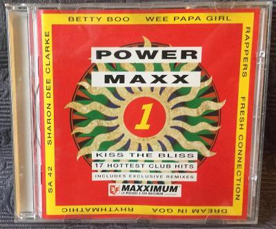 CD - POWER MAXX (1990) , CD V PĚKNÉM STAVU