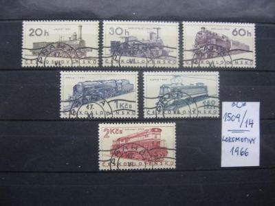 série 1509 / 1514 - Lokomotivy 1966 (6) - popis - H-24