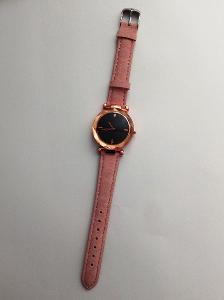Dámské módní hodinky - růžové (NOVÉ!!!) - drobné kosmetické vady