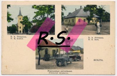 Kolta 1934 - Nové Zámky , obchod , auto , /3147/