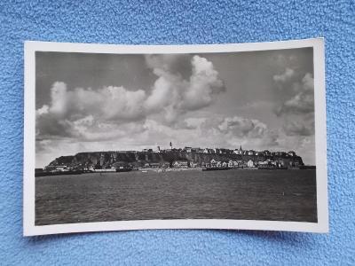 Německo Říše Helgoland ostrov Dánsko Anglie přístav opevnění maják