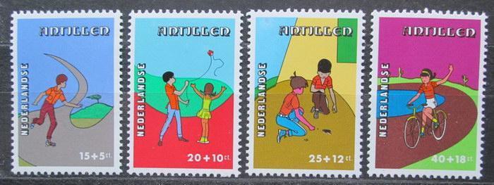 Nizozemské Antily 1978 Dětské aktivity Mi# 374-77 0082