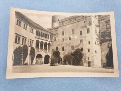 Pohlednice Jindřichův Hradec rok 1952