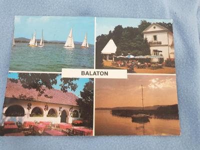 Pohlednice Balaton rok 1988