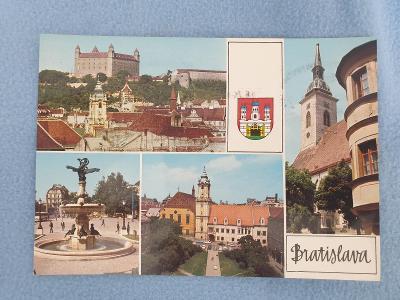 Pohlednice Bratislava 1974