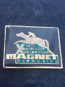 Odznak X. Velká cena  MAGNET 1978 Pardubice.