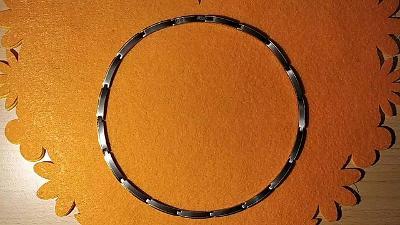 Náhrdelník TITAN Boccia , 48cm , pozlacené články  - 100%