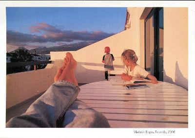 Vladimír Birgus: Tenerife, 2000, pohlednice (PODPIS) .
