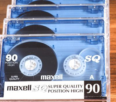 40 PACK - AUDIO KAZETA MAXELL SQ TYPE II CHROME - 90 min