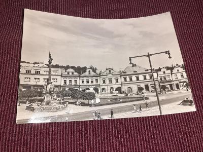 Pohlednice Havlíčkův Brod, prošlé poštou.
