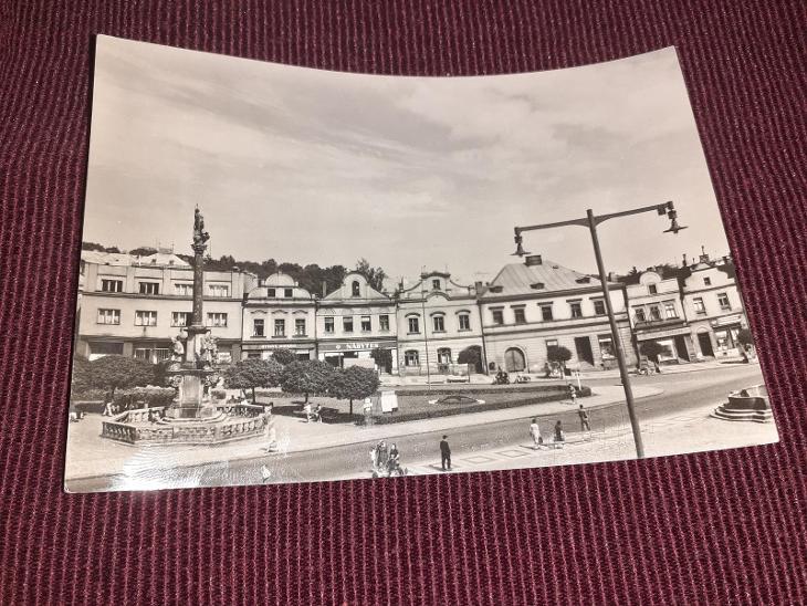 Pohlednice Havlíčkův Brod, prošlé poštou.  - Pohlednice