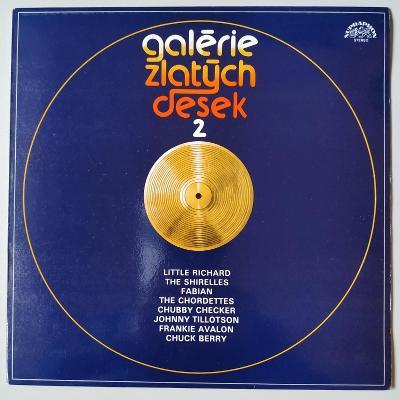 LP GALERIE ZLATÝCH DESEK 2(1985) MINT - JAKO NOVÁ!!