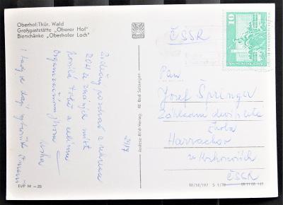 DDR - pohlednice