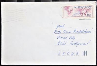 ČSSR II dopisní obálka - razítko Liberec