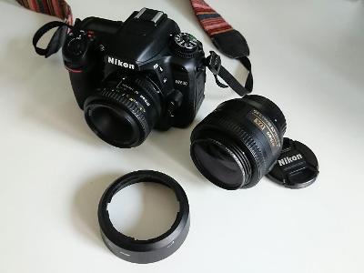 NIKON D7500, DX AF-S NIKKOR 35mm 1.8G, AF NIKKOR 50mm 1.8D