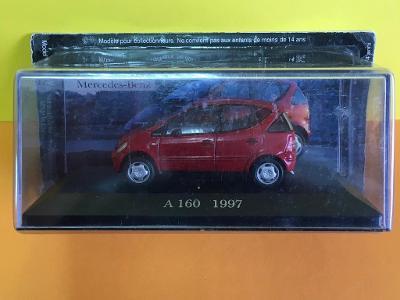 Mercedes Benz A 160 (1997) červená - De Agostini 1/43 (M2-12)