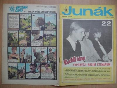 Časopis - Junák - ročník XXXII. - číslo 22. - Únor 1970
