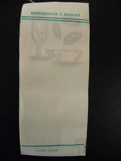 staré restauratérské lístky - Ostatní