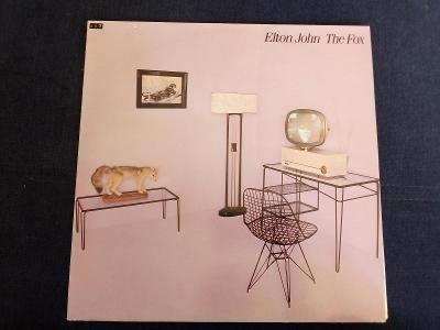 Elton John - The fox -top stav- Scandinavia 1981 LP
