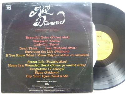 Hitové LP : NEIL DIAMOND - Beautiful Life / Street Life skvělý stav