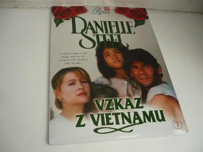 Výprodej DVD! DANIELLE STEEL DVD 7 - VZKAZ Z VIETNAMU