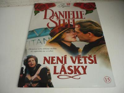 Výprodej DVD! DANIELLE STEEL DVD 15 - NENÍ VĚTŠÍ LÁSKY