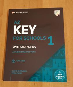 KEY for Schools A2 (2020) sada 4 kompletních testů , poslechy + klíč