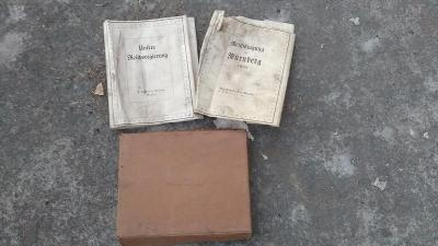 Reichstagung in nürnberg 1937, 1933 -3x obal knihy