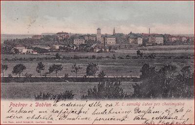Dobřany (Dobrsan) * pohled na část města * Plzeň jih * M556