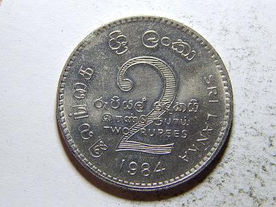 Srí Lanka 2 Rupees 1984 UNC č33270