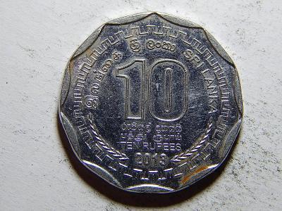 Srí Lanka 10 Rupees 2013 XF č33493